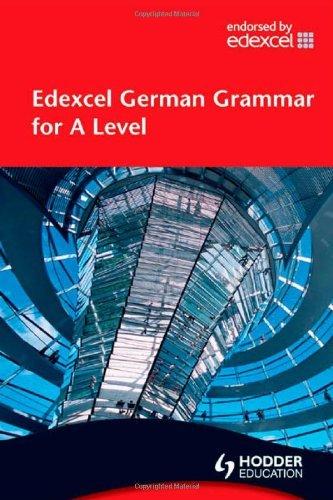 9780340968536: Edexcel German Grammar for A Level (EAML)