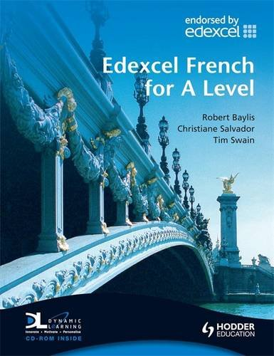 9780340968635: Edexcel French for A Level Student's Book with Dynamic Learning Home Edition CD-ROM (EAML)