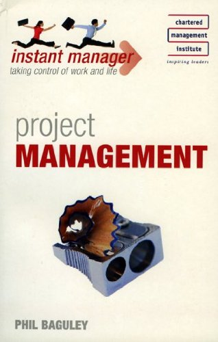 9780340968765: Project Management (Instant Manager)