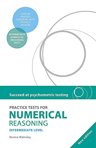 9780340972274: Practice Tests for Numerical Reasoning
