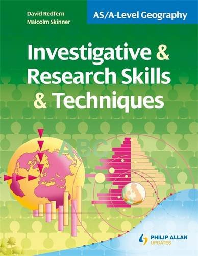 9780340972434: Investigative & Research Skills & Techniques (As/a-Level Geography)