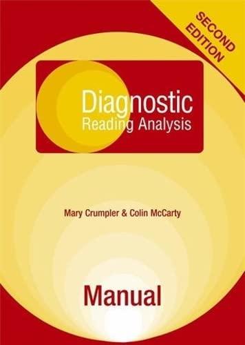 9780340976098: Diagnostic Reading Analysis