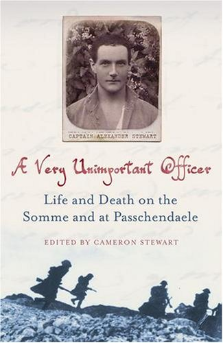 9780340979129: A Very Unimportant Officer: Life and Death on the Somme and at Passchendaele