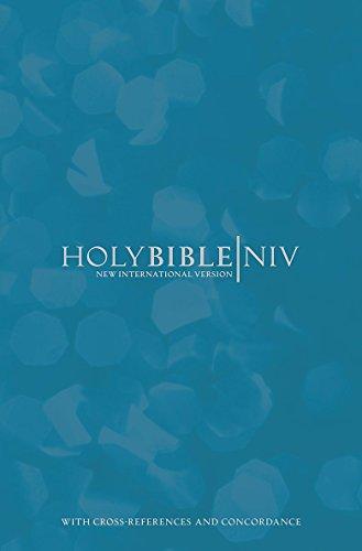 NIV Cross-Reference Blue Hardback Bible: International Bible Society,