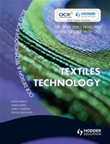 9780340981993: OCR Design and Technology for GCSE: Textiles Technology (Ocr Design & Technology/Gcse)
