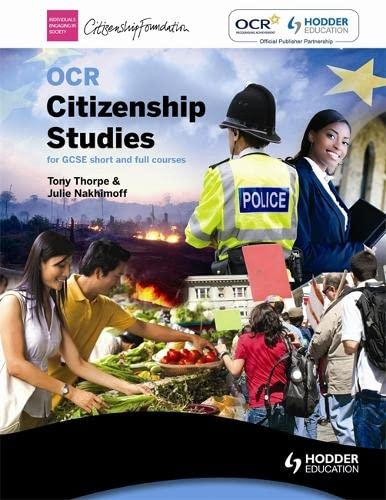 9780340982495: OCR Citizenship Studies for GCSE full and short courses Second Edition