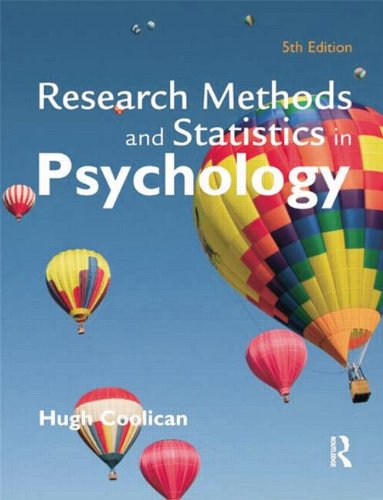 9780340983447: Research Methods and Statistics in Psychology