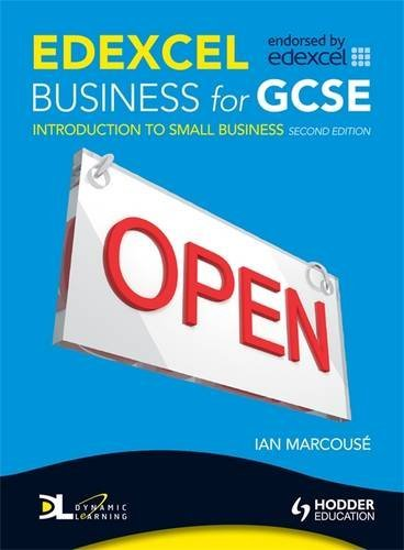 9780340983461: Edexcel Business for Gcse: Introduction to Small Business