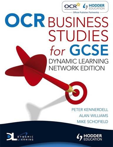 9780340983485: OCR Business Studies for GCSE, Dynamic Learning Network Edition
