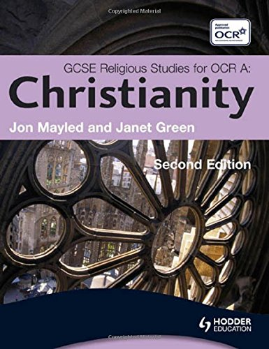 9780340983591: GCSE Religious Studies for OCR: Christianity