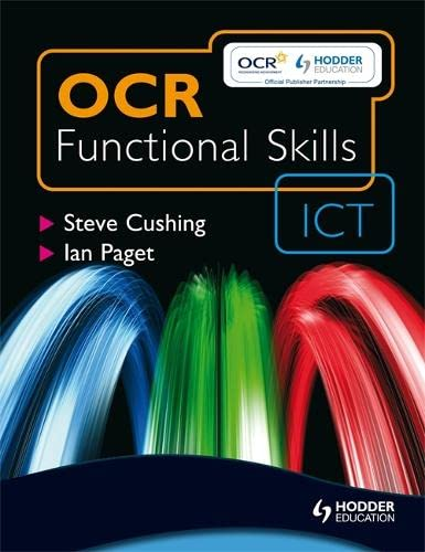 9780340984345: OCR Functional Skills ICT - Student Book