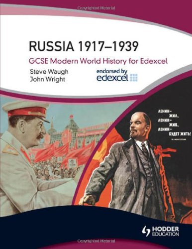 9780340984406: Russia 1917-1939: Gcse Modern World History for Edexcel