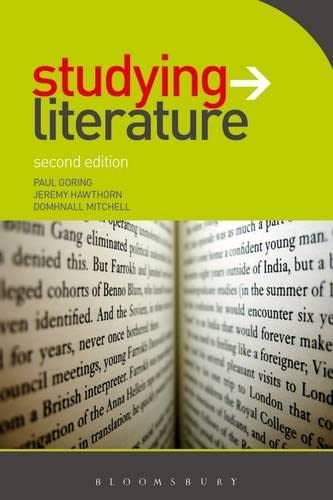9780340985120: Studying Literature: The Essential Companion