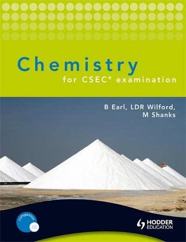 9780340985434: Chemistry for CSEC Examination