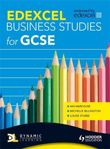 9780340985830: Edexcel Business for Gcse