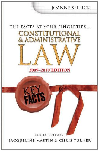 9780340985854: Key Facts: Constitutional & Administrative Law