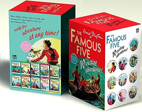9780340988527: Famous Five Classic Edition B Format 10 Copy Slipcase SPECIAL SALE