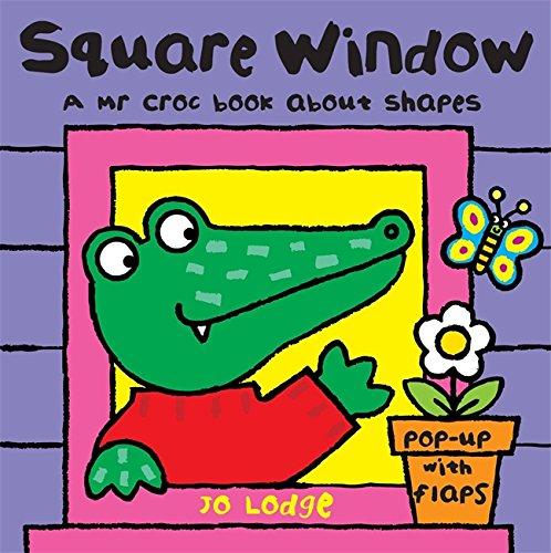9780340988787: Mr Croc Board Book: Square Window