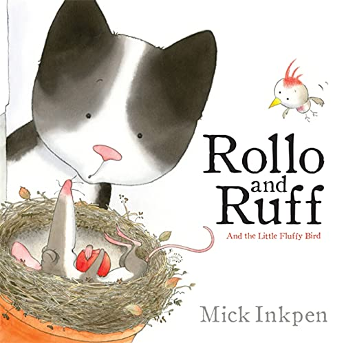 9780340989593: Rollo and Ruff and the Little Fluffy Bird