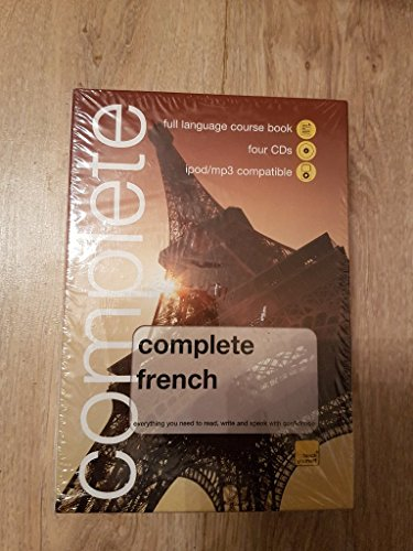 9780340990599: WHSmith Complete French Book/4 CD Pack