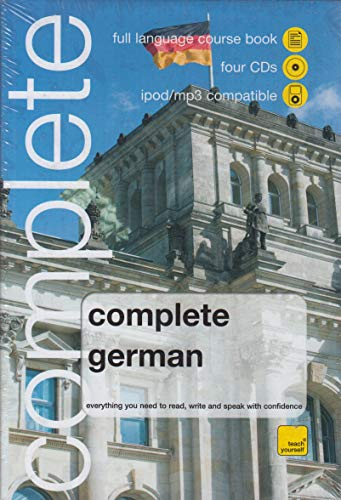 9780340990605: WHSmith Teach Yourself Complete German Book/4 CD Pk