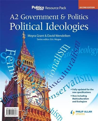 9780340990827: Political Ideologies: A2 Government & Politics (As/A-level Photocopiable Teacher Resource Packs)