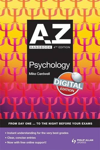 9780340991039: A-Z Psychology Handbook: Digital Edition (A-Z Handbooks)