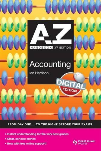 9780340991053: A-Z Accounting Handbook + Online 3rd Edition (Complete A-Z)