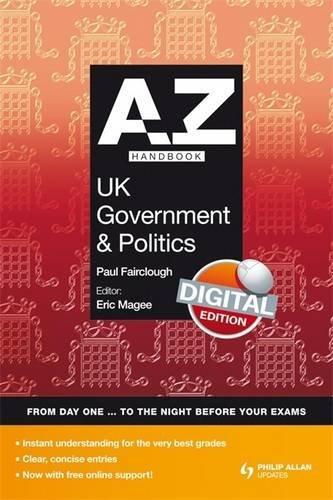 9780340991114: A-Z UK Government and Politics Handbook: Digital Edition (A-Z Handbooks)