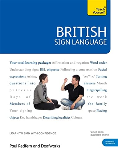9780340991329: British Sign Language [Book/DVD Pack] (Teach Yourself)