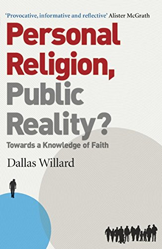 9780340995235: Personal Religion, Public Reality?: Towards a Knowledge of Faith
