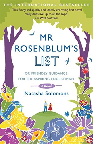 9780340998595: Mr Rosenblum's List: Or Friendly Guidance for the Aspiring Englishman