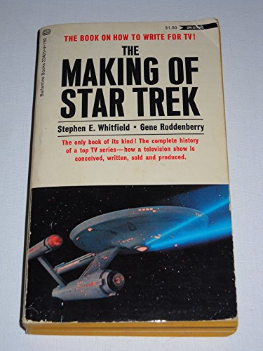 9780345016218: THE MAKING OF STAR TREK : The Book on How to Write for TV!