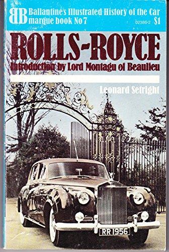 9780345023865: Rolls-Royce