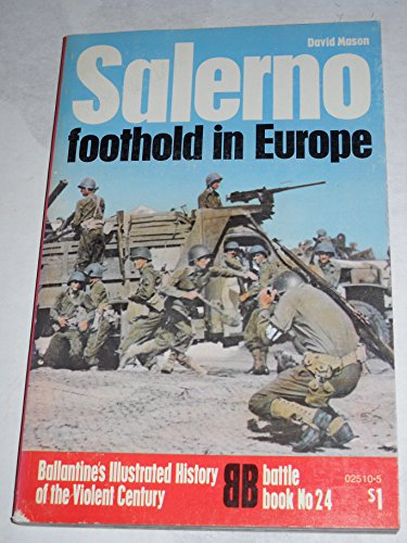 9780345025104: Salerno Foothold In Europe Volume 24