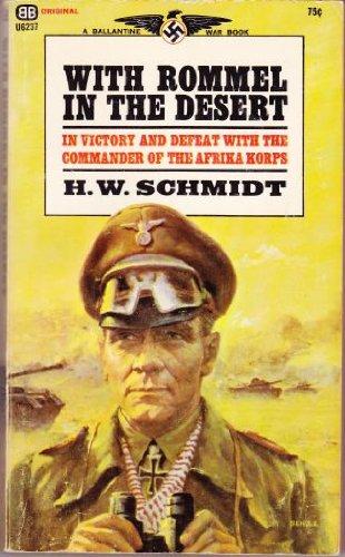 9780345025272: With Rommel in the Desert (A Ballantine war book)