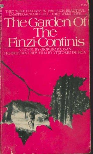 9780345026583: The Garden of the Finzi-Continis