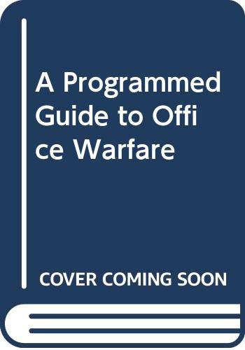 9780345026675: A Programmed Guide to Office Warfare