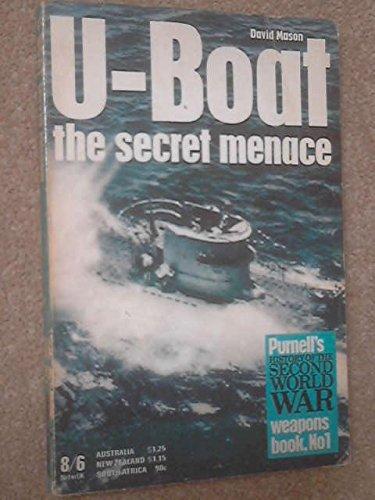 9780345097323: U-Boat the Secret Menace