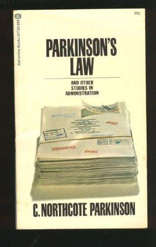 9780345217264: Parkinson's Law