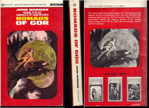 Nomads of Gor (0345217659) by Norman, John
