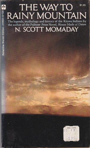 n scott momaday the way to rainy mountain analysis