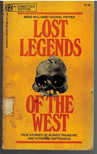 9780345227843: Lost Legends of the West
