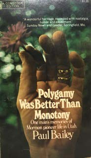 9780345235053: Polgamy Was Better Than Monotony