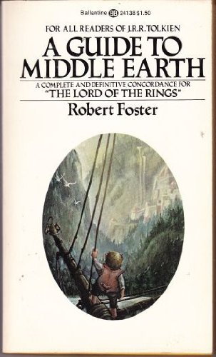 9780345241382: A Guide to Middle Earth