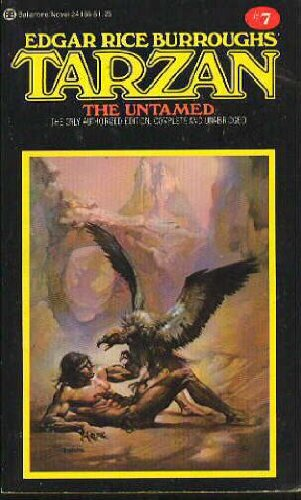 9780345241665: Tarzan the Untamed (Book #7)