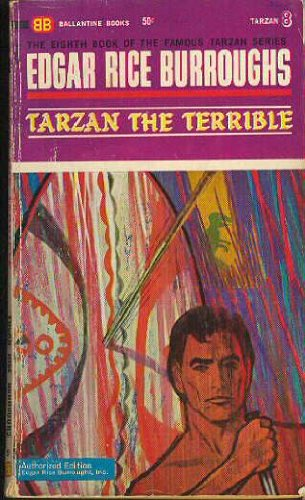 9780345241672: Tarzan The Terrible [Tarzan 8]