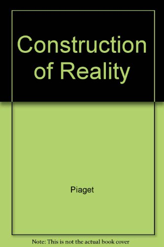 9780345243003: The Construction of Reality in the Child