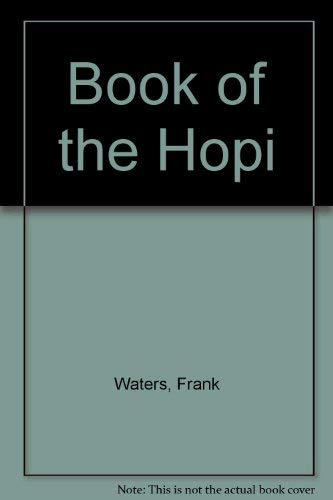 9780345243171: Book of the Hopi