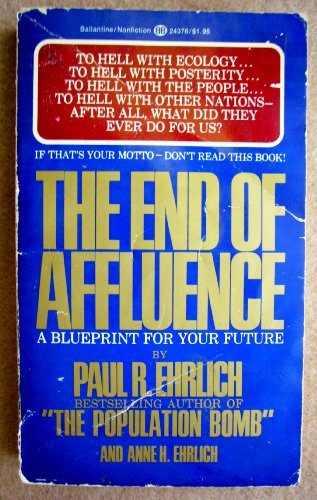 9780345243768: The End of Affluence